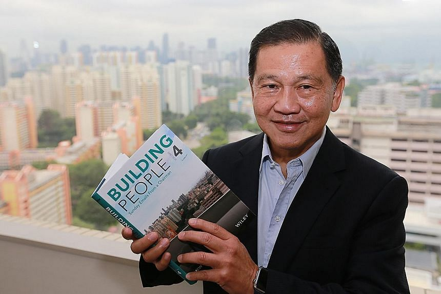 """Mr Liew, who used to be the CEO of CapitaLand, started penning his """"Sunday e-mails"""" back in 1998, initially for staff at the real estate giant and now at the two firms he chairs. A collection of these e-mails has been published over four volumes, wit"""