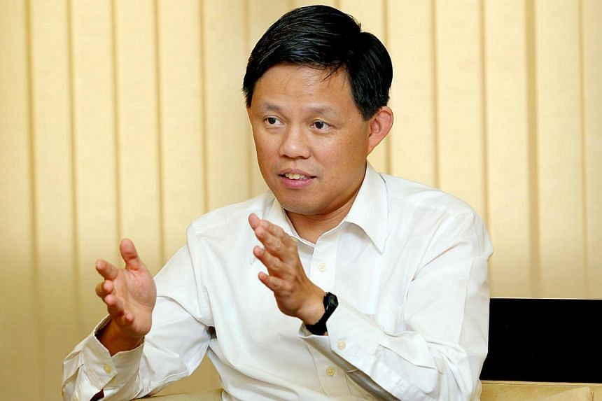 Minister in the Prime Minister's Office Chan Chun Sing.