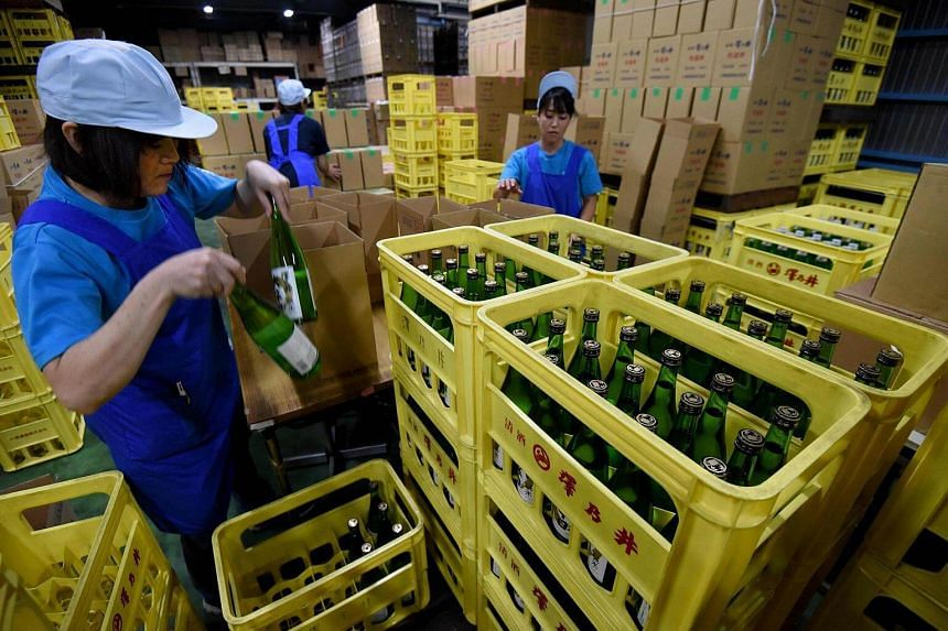 Sake, a fermented drink made of rice, has hit hard times in its homeland amid changing tastes, but manufacturers are welcoming growing popularity overseas.
