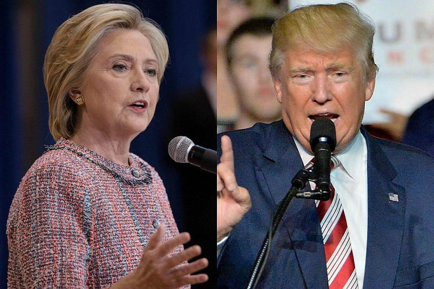 The pressure is intense for Democrat Hillary Clinton (left) and Republican Donald Trump who will clash in the first US presidential debate.