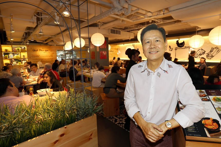 Mr Goh, executive chairman of Katrina Group, has not laid off any staff from his company's 32 restaurants. However, he is encouraging his workers to increase their productivity by taking on additional duties.