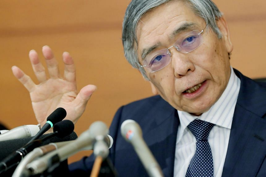 Bank of Japan Governor Haruhiko Kuroda said on Monday (Sept 26) the central bank stood ready to use every possible policy tool to achieve its 2 per cent inflation target.