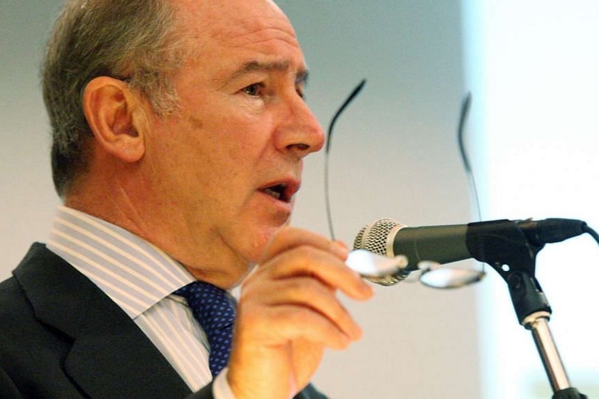Former International Monetary Fund (IMF) chief Rodrigo Rato.