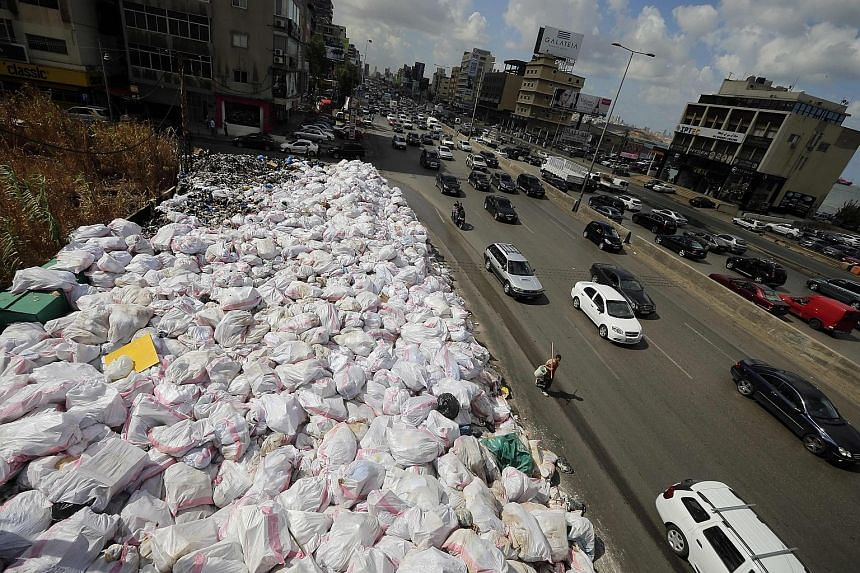 Only six months after the Lebanese capital's long-running waste crisis supposedly came to an end, piles of garbage are again clogging the streets of Beirut. In March, the government announced a temporary three-year plan to clear the refuse, which inc
