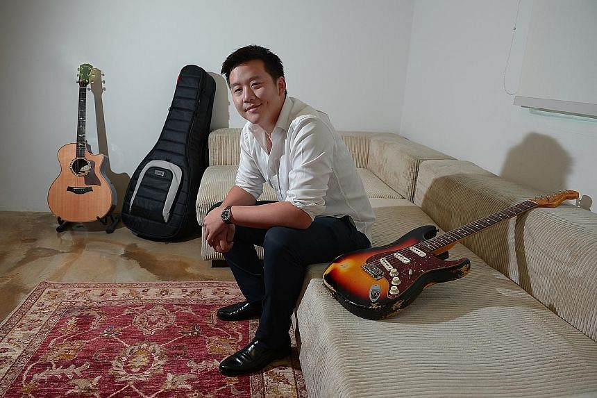 BandLab chief executive Kuok Meng Ru. Backed by his father, the 28-year-old Cambridge graduate has been building a smaller empire of his own in the music world.