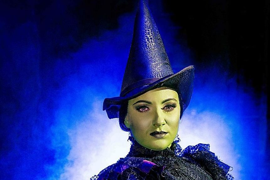 Jacqueline Hughes identifies with Elphaba as she is passionate about issues.