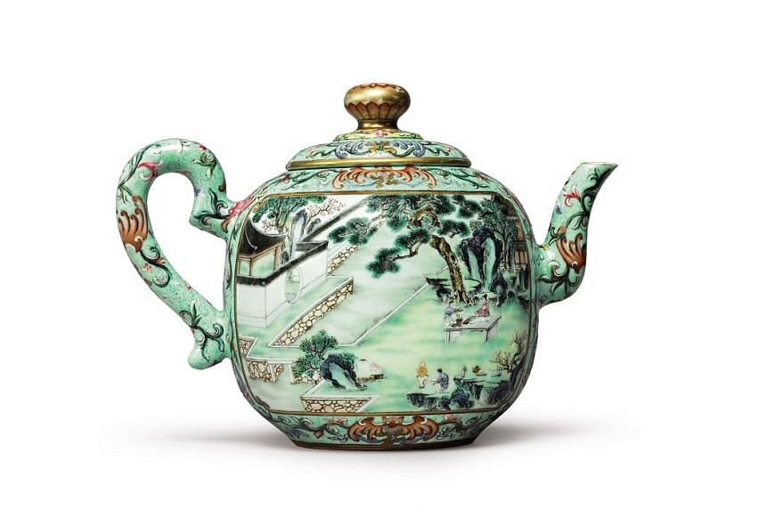This 18th-century Chinese teapot sold for $4.7 million.