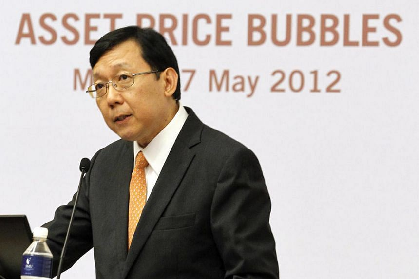 Mr Ong Chong Tee, deputy managing director of financial supervision at the Monetary Authority of Singapore, in May 2012.