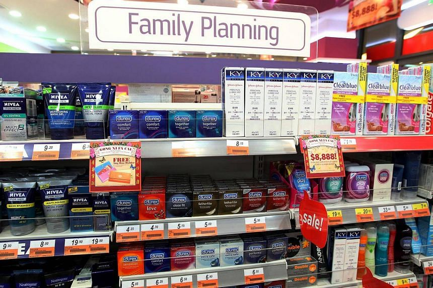 The greater use of contraceptives has led to fewer Singaporean babies born out of wedlock, say social workers.