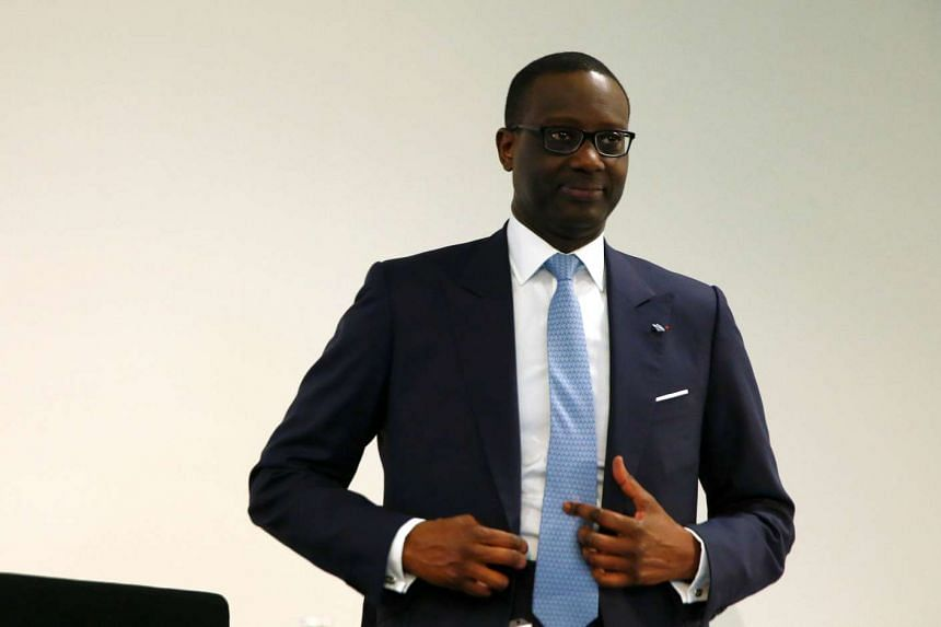 Credit Suisse CEO Tidjane Thiam said the bank is mulling further cost reductions, at a conference on Sept 27, 2016.