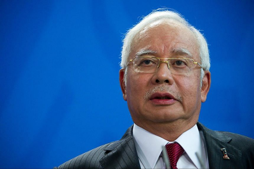 Malaysian Prime Minister Najib Razak during a joint news conference with German Chancellor Angela Merkel on Sept 27, 2016.