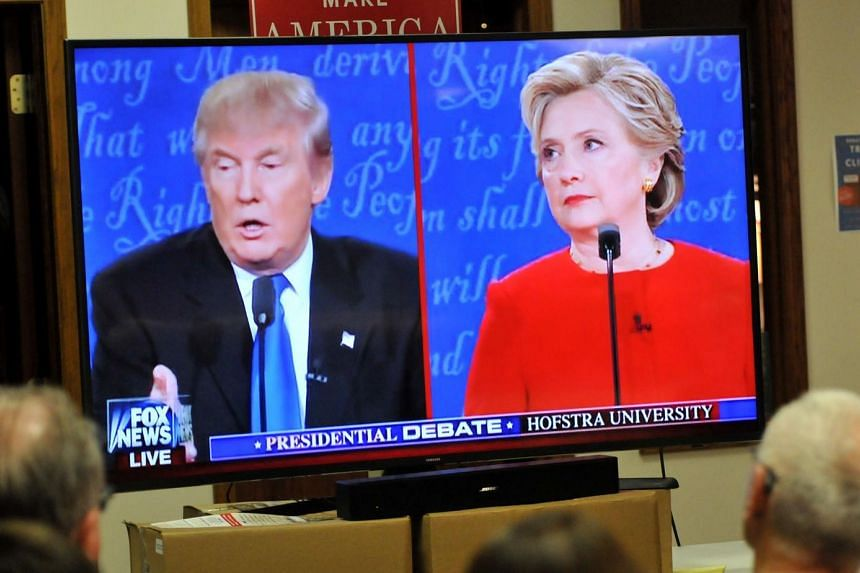Insults were traded and issues debated in a heated manner as Mrs Hillary Clinton and Mr Donald Trump met in their first presidential debate on Tuesday morning (Sept 27, Singapore time).