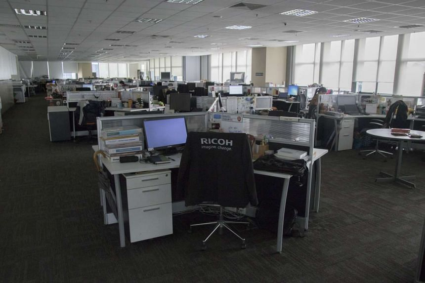 Ricoh Asia Pacific Pte Ltd switches off its lights for one hour every day when the staff leave for lunch.