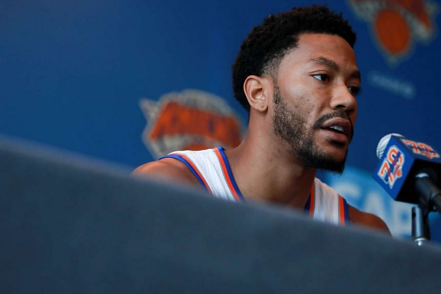d51ef353539c NBA  Derrick Rose unfazed by rape case as Los Angeles police confirm  investigation. New York Knicks ...