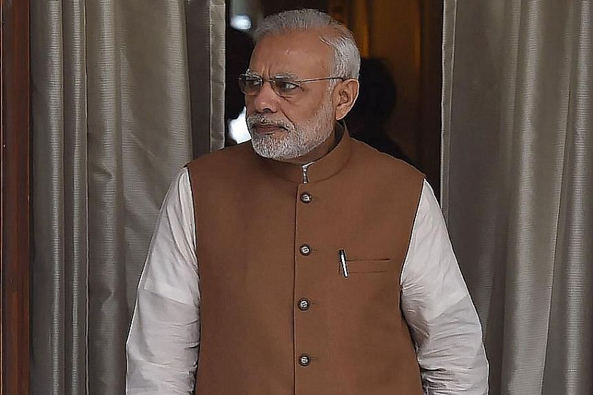 Indian Prime Minister Narendra Modi met his top officials for talks over the treaty.