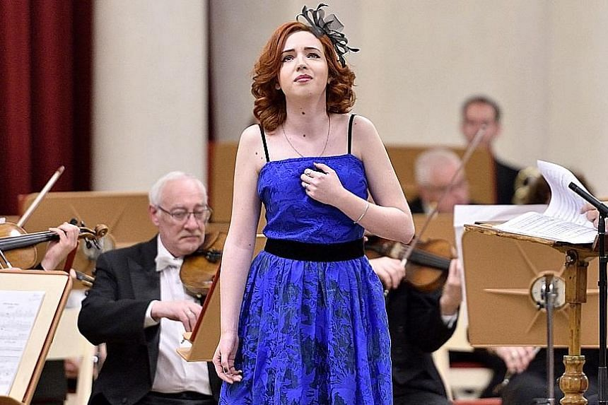 Russian mezzo-soprano Vasilisa Berzhanskaya performs in two concerts and gives a masterclass at the festival here.