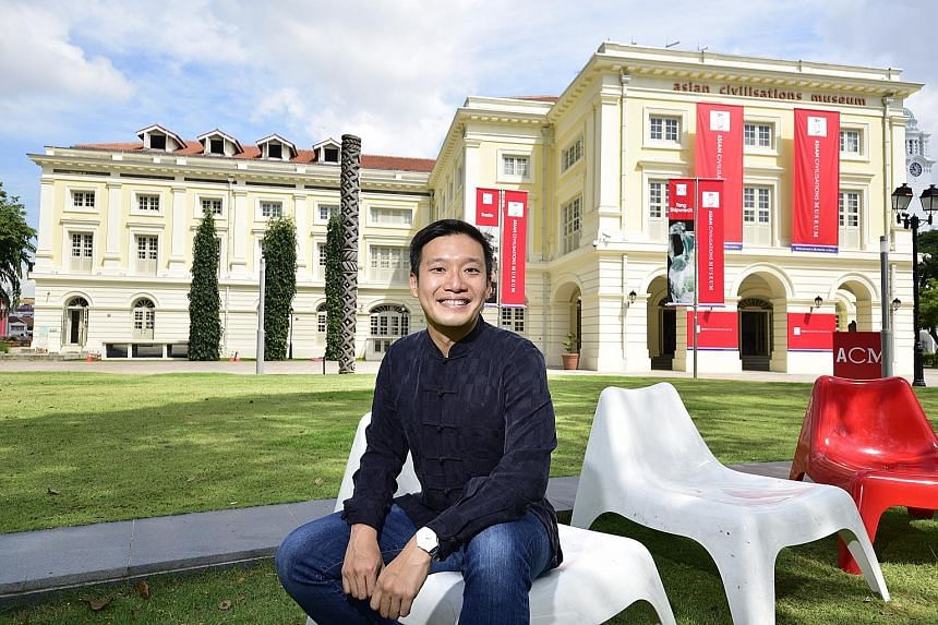 Mr Kennie Ting is rolling out a number of initiatives to enliven the museum's waterfront space.