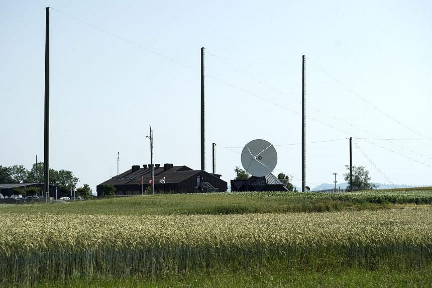 The receiving station of the Onyx system of the Federal Intelligence Service in Switzerland. Swiss intelligence bodies will now be allowed to tap phones, among other measures to monitor suspects.