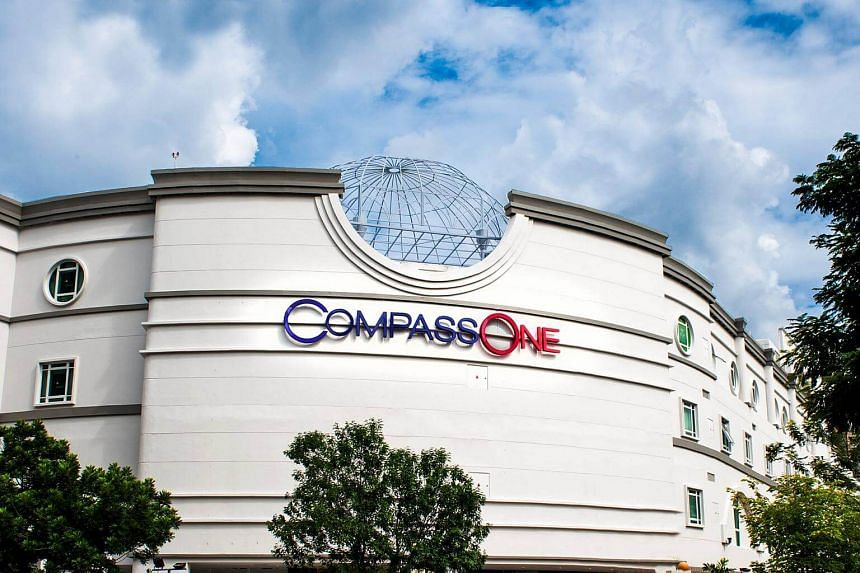 Sengkang's Compass One mall officially opened on Tuesday (Sept 27) after a major year-long upgrade.