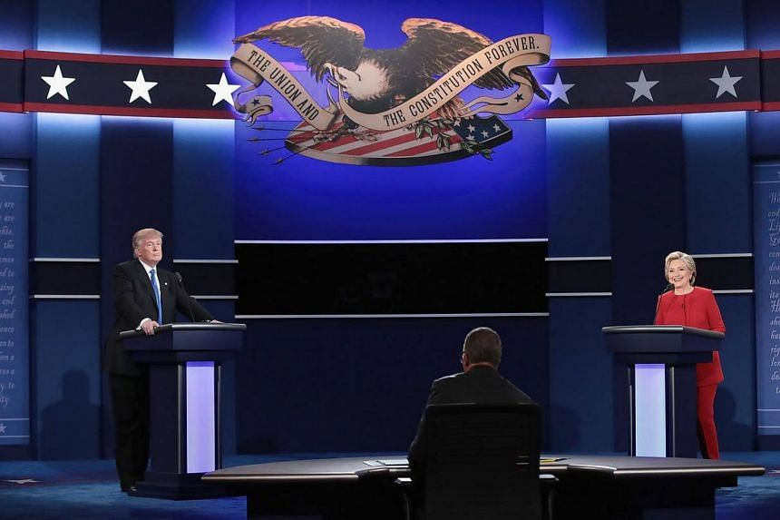 Hillary Clinton and Donald Trump went head-to-head for the first time on Tuesday (Singapore time) in a debate at Hofstra University in Hempstead, New York.