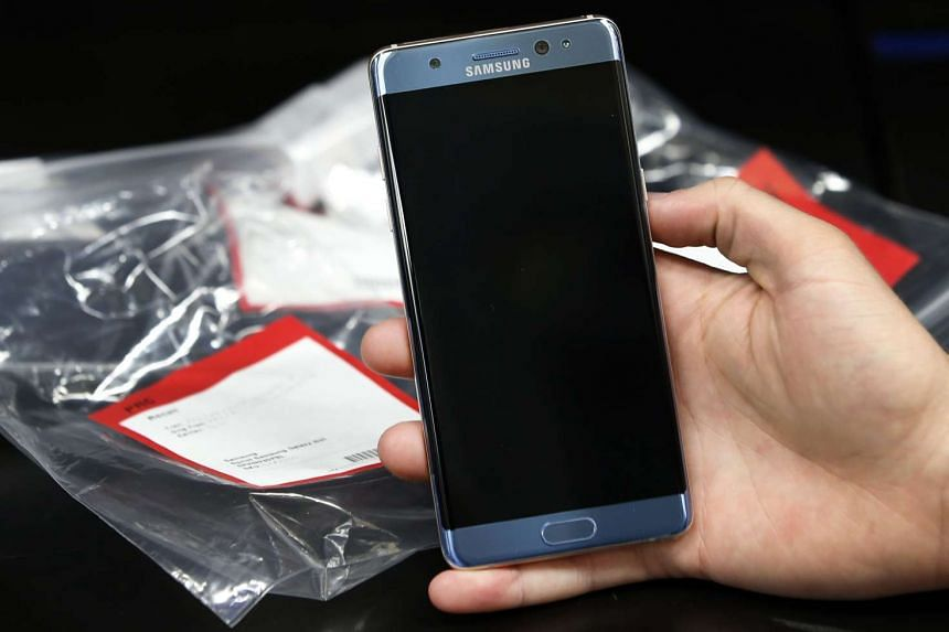 A Chinese user said his Samsung Galaxy Note 7 that he purchased on Sunday exploded.