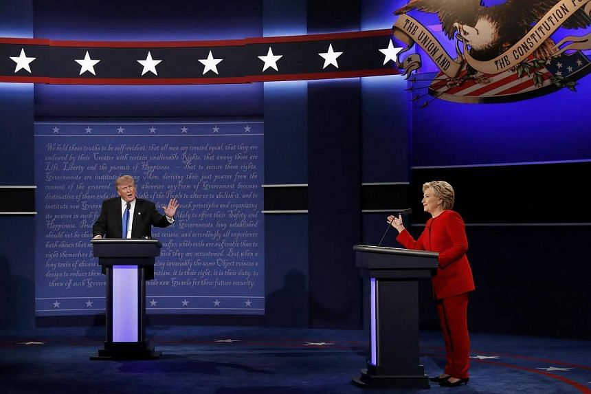 Mrs Hillary Clinton and Mr Donald Trump kept fact-checkers busy throughout their first debate.