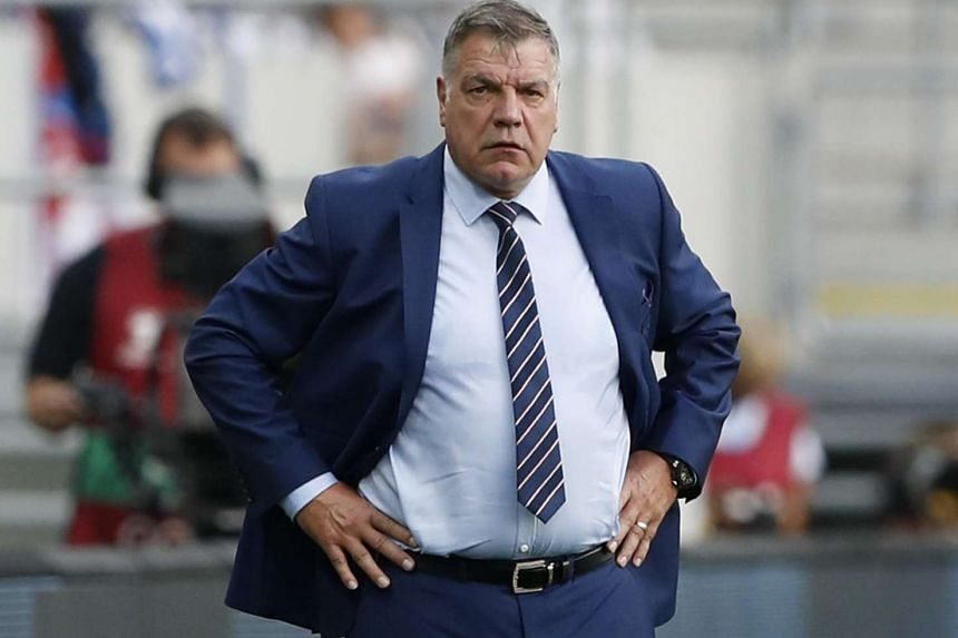 England manager Sam Allardyce on the touchline during the World Cup qualifying match against Slovakia on Sept 4, 2016.