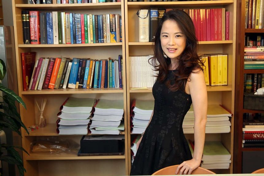 Legal manager Sara Yang, who has been offered a place in SIM University's undergrad law course, has been working as a paralegal since 2006.