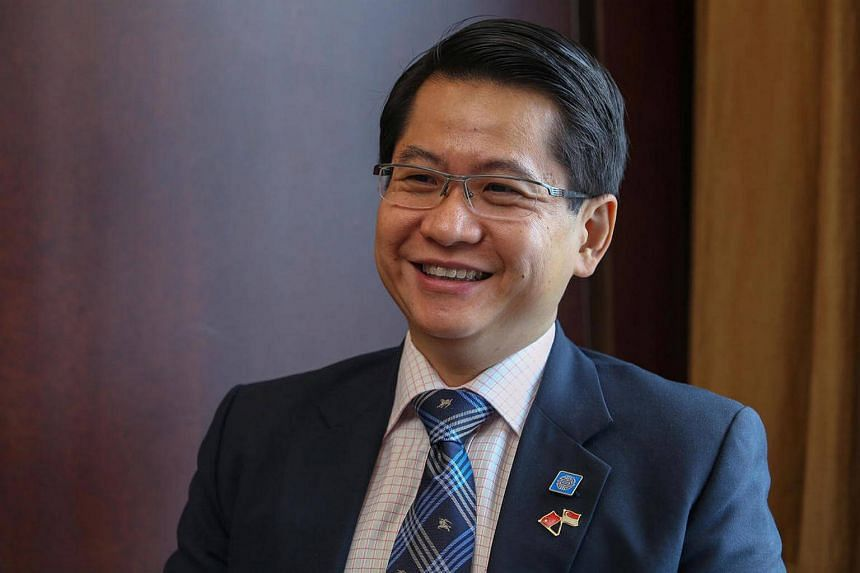 Mr Stanley Loh, Singapore's Ambassador to China.