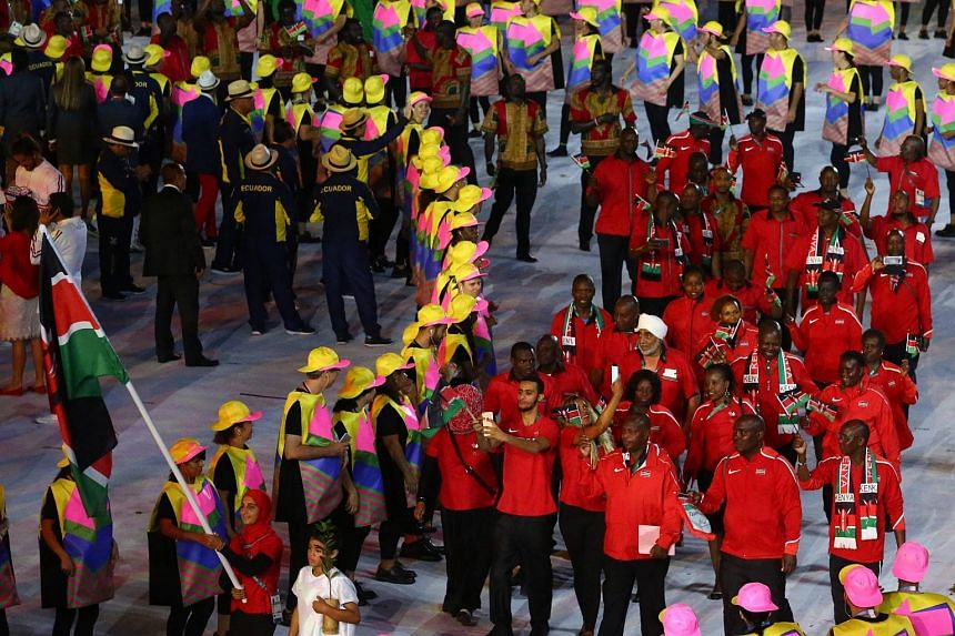 The team manager for Kenya's Olympic contingent in Rio has been charged with stealing more than 25 million shillings (S$336,000).