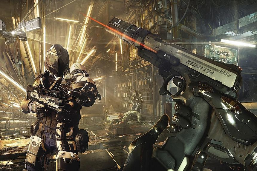 The cyberpunk and totalitarian world in Deus Ex: Mankind Divided is artfully crafted through design and richly detailed side missions.