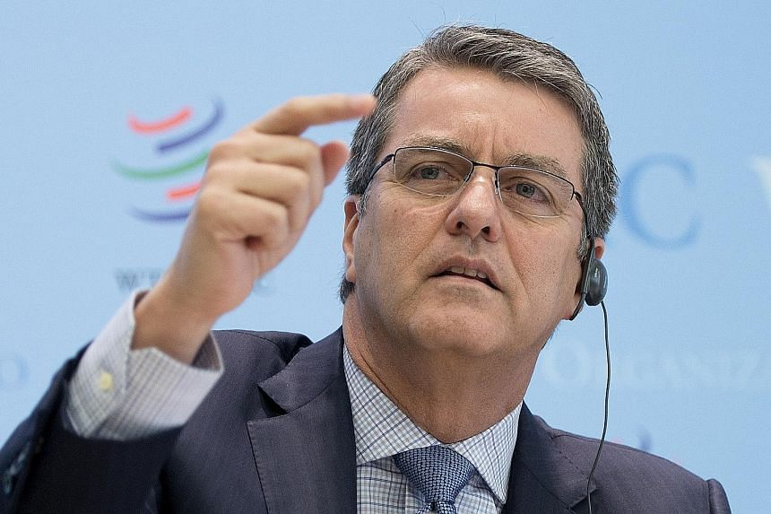 WTO director- general Roberto Azevedo warned that policies that might curb globalisation would worsen the slowdown and impede job creation and economic growth.