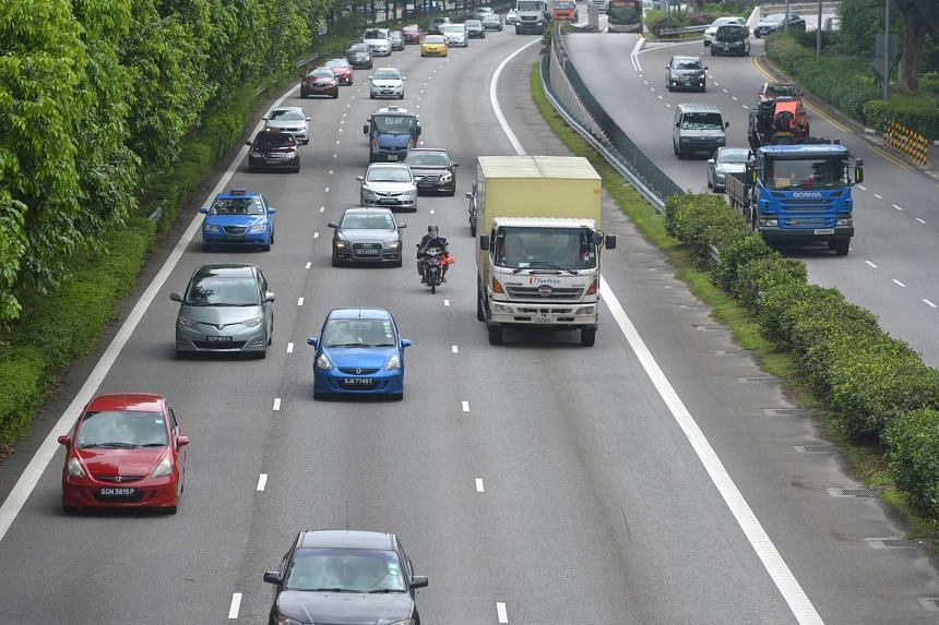 A former taxi driver was fined $5,000 and banned from driving for five years for causing the death of a lorry driver at the Pan-Island Expressway (PIE) in 2015.