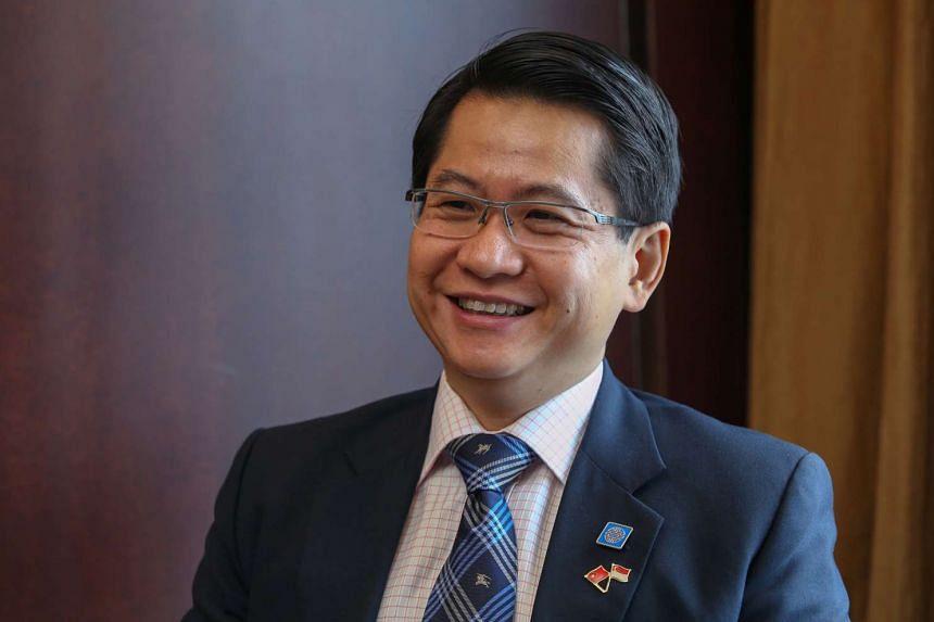 Mr Stanley Loh, Singapore's Ambassador to China.