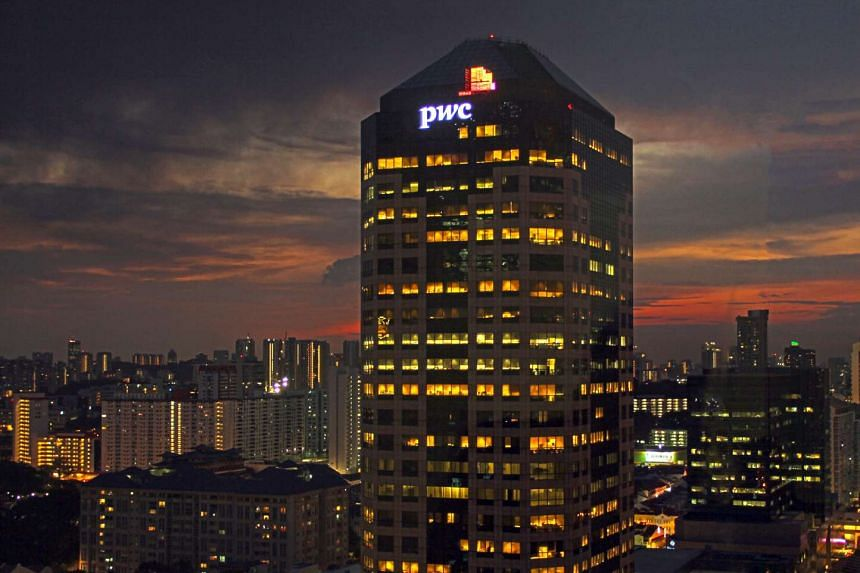 The PWC building at Cross Street, Singapore.