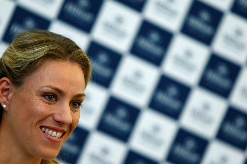 Angelique Kerber will begin her 2017 tour campaign at the Brisbane International.
