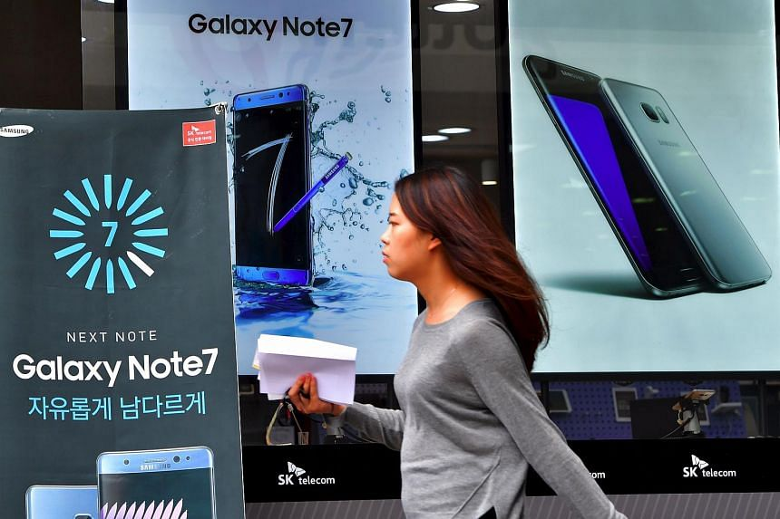 Samsung said it would be resuming sales of the Galaxy Note 7 in South Korea this week.