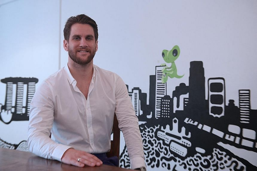 Mr Priest started TradeGecko here in 2012 with his brother and a friend - all from New Zealand - under the JFDI, one of Singapore's earlier start-up incubators. Merging a business' back-end processes of sales, purchasing, inventory and invoicing into