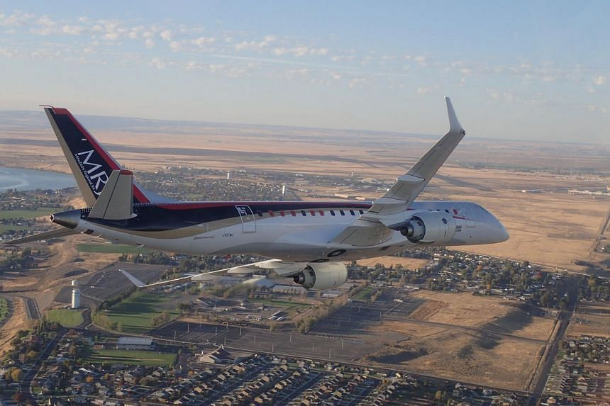 The plane arrived at Grant Country International Airport at Moses Lake, Washington, on Wednesday (Sept 28). PHOTO: AFP