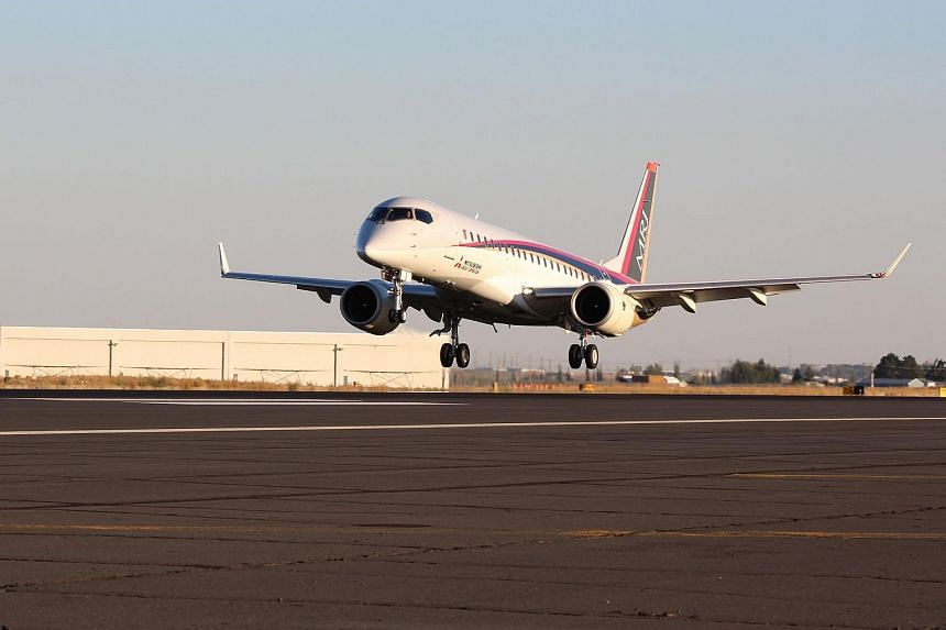 The plane arrived at Grant Country International Airport at Moses Lake, Washington, on Wednesday (Sept 28).