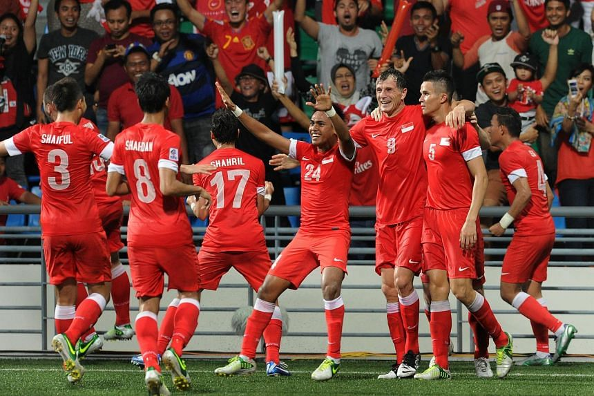 The Singapore football team. Malaysia coach Ong Kim Swee is expecting a hostile reception when he brings his team to Singapore's National Stadium for next week's Causeway Challenge.