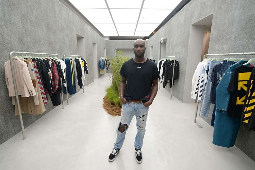 d2a31feeaaa1 Off-White founder Virgil Abloh opened his first South-east Asian store in  Singapore