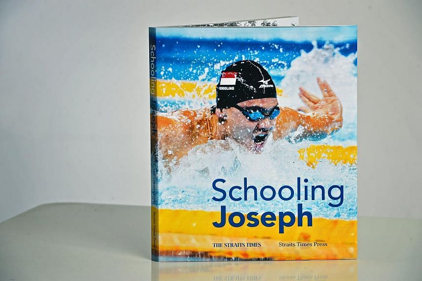 Schooling Joseph, an authorised biography of our Olympian gold medalist by former ST reporter Chan U-Gene and ST Sports journalist Rohit Brijnath.