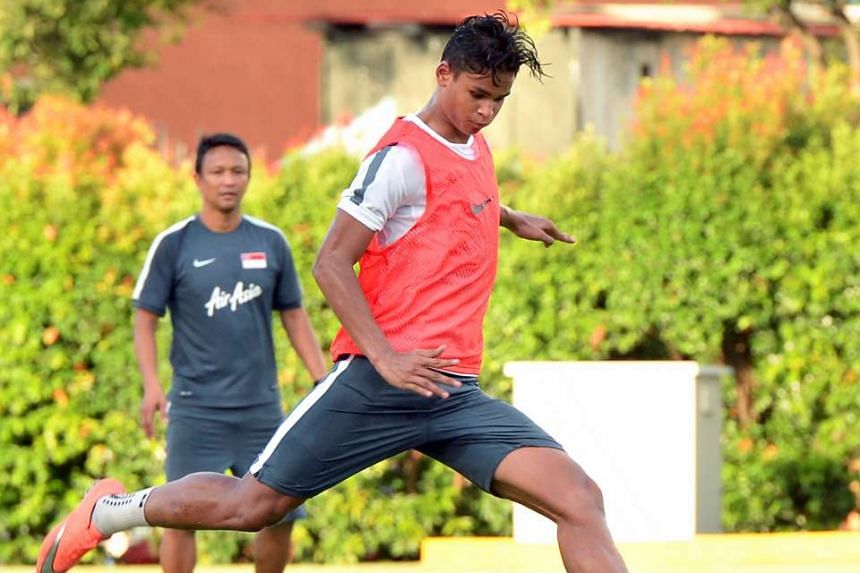 Irfan Fandi has been named in the lineup for the Lions' two friendly matches against Malaysia and Hong Kong.