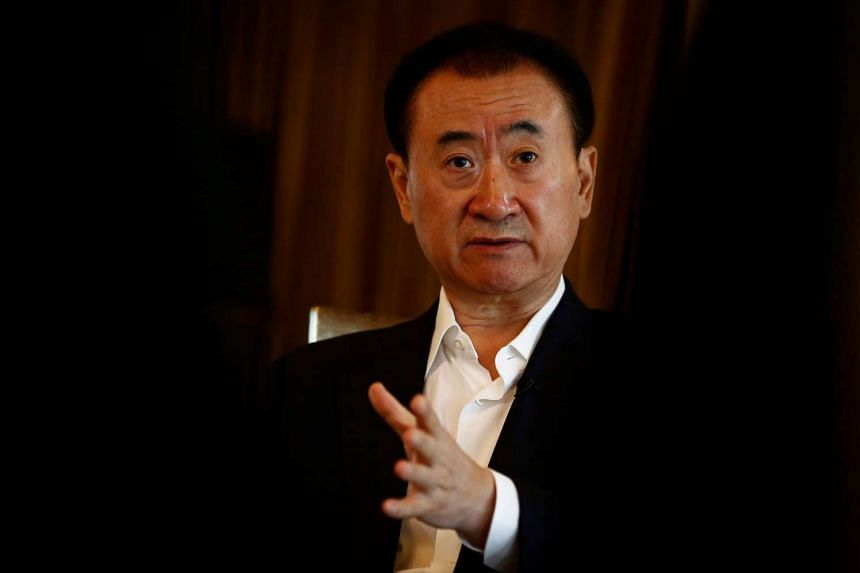 China's richest man Wang Jianlin, whose company Dalian Wanda Group had just signed an eight-year  exclusive partnership with the Badminton World Federation.