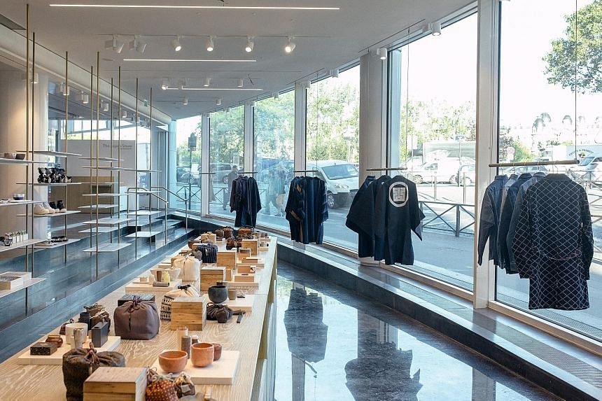On Saturday, the Japan Store, at the Japanese cultural centre near the Eiffel Tower in Paris, is set to open its doors. Isetan Mitsukoshi Holdings, Japan's largest department store group, is distilling its vast offerings into a boutique-like space he