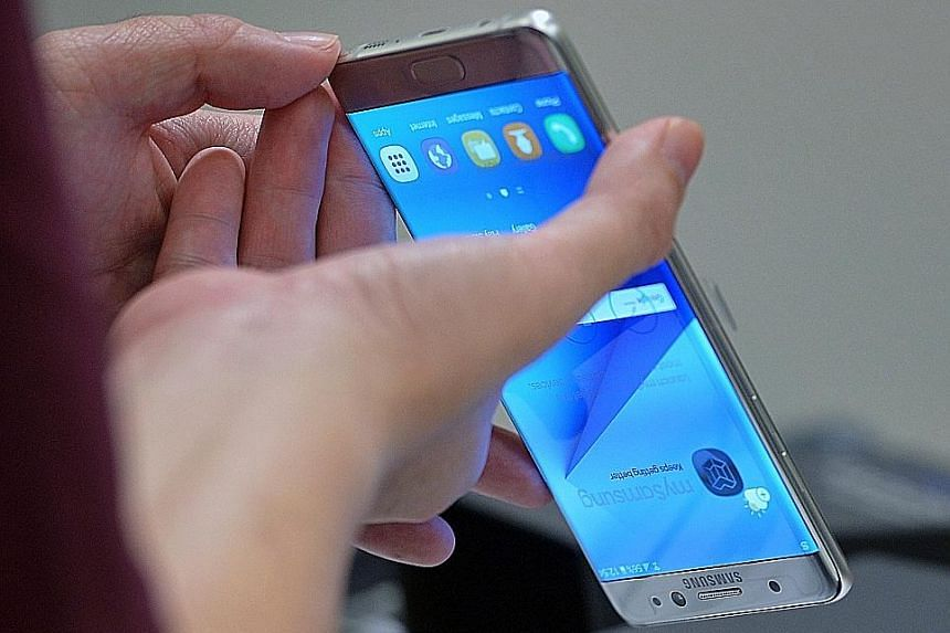 Singapore's first major mobile phone recall has seen thousands of Galaxy Note7 phones exchanged.