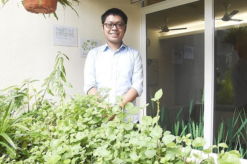 Mr Ng, 22, was diagnosed with schizophrenia at the age of 18. He was referred to the Early Psychosis Intervention Programme (EPIP) at the Institute of Mental Health, where he got better after receiving help. He now works part-time at the EPIP.