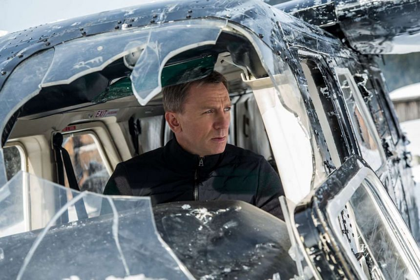 Daniel Craig as James Bond in a still from the movie Spectre.