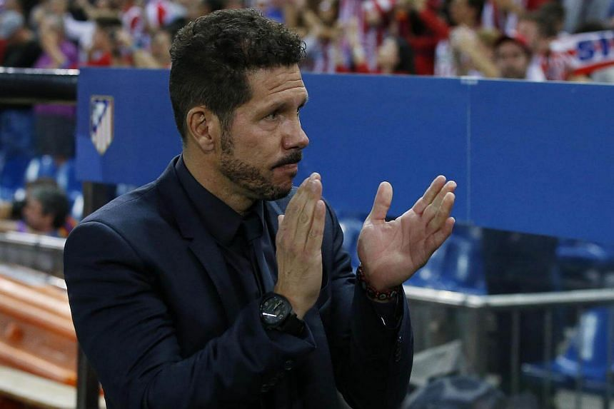 Atletico Madrid coach Diego Simeone hailed his side's display against Bayern as one of the best in his hugely successful five-year reign in charge.